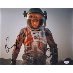 "Matt Damon Signed ""The Martian"" 11x14 Photo (PSA Hologram)"