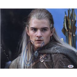 """Orlando Bloom Signed """"The Lord of the Rings"""" 11x14 Photo (PSA Hologram)"""