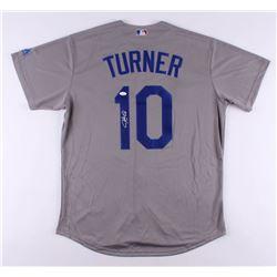 Justin Turner Signed Los Angeles Dodgers Jersey (JSA COA)