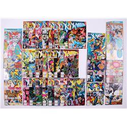 "Lot of (44) 1989-91 ""The Uncanny X-Men"" #252-#312 Marvel Comic Books"