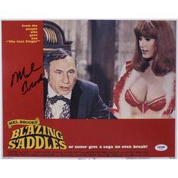 """Mel Brooks Signed """"Blazing Saddles"""" 11x14 Photo (PSA Hologram)"""