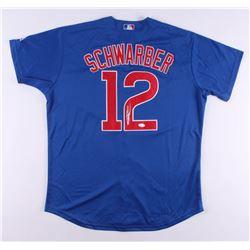Kyle Schwarber Signed Chicago Cubs Jersey (JSA COA)