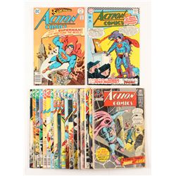 Lot of (20) 1962-1978 DC Action Comic Books