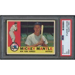 1960 Topps #350 Mickey Mantle (PSA 5)