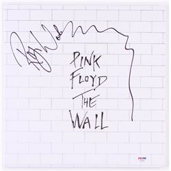 """Roger Waters Signed Pink Floyd """"The Wall"""" Vinyl Record Album (PSA COA)"""