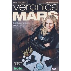 "Kristen Bell Signed ""Veronica Mars"" 12x18 Photo (PSA COA)"