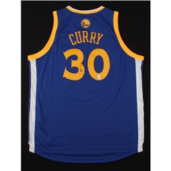 Stephen Curry Signed Golden State Warriors Authentic Adidas Swingman Jersey (SGC COA  Curry COA)