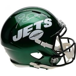 Sam Darnold Signed New York Jets Full-Size Speed Helmet (Fanatics Hologram)
