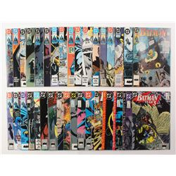 """Lot of (34) 2003-2005 DC """"Batman"""" Comic Books Issues with #458, #455, #430, #462, #461"""