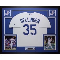 Cody Bellinger Signed Los Angeles Dodgers 35x43 Custom Framed Jersey (Fanatics  MLB Hologram)