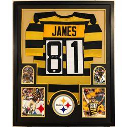 Jesse James Signed 34x42 Custom Framed Jersey (JSA COA)