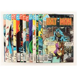 """Lot of (14) 1979-1983 DC """"Batman"""" Comic Books Issues with #313, #333, #356, #353, #350"""