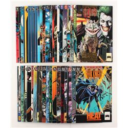 """Lot of (43) 1989-1993 DC """"Batman Legends of the Dark Knight"""" Comic Books Issues with #3, #49, #29, #"""