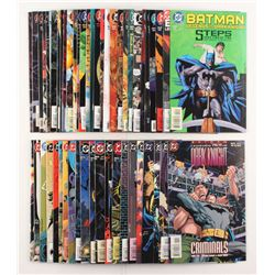 """Lot of (51) 1993-1997 DC """"Batman Legends of the Dark Knight"""" Comic Books Issues with #80, #60, #99,"""