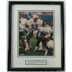 Dan Marino Signed Miami Dolphins Custom Framed 8x10 Photo Display (UDA Hologram)