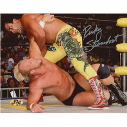 Ricky Steamboat Signed WWE 8x10 Photo (MAB Hologram)