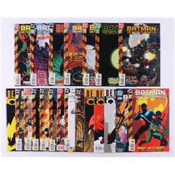 "Lot of (21) 1998-2000 DC ""Detective Comics"" 1st Series Comic Books Issues with #731, #745, #746, #73"