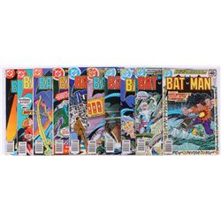 "Lot of (10) 1978-1979 DC ""Batman"" Comic Books Issues with #309, #304, #300, #302, #307"