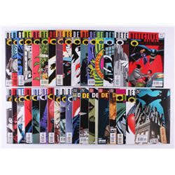 "Lot of (34) 2000-2003 DC ""Detective Comics"" 1st Series Comic Books Issues with #779, #771, #751, #76"