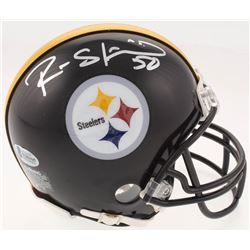 Ryan Shazier Signed Pittsburgh Steelers Mini Helmet (Beckett COA)