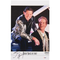 "Dennis Quaid Signed ""Great Balls of Fire!"" 11x17 Poster Print (JSA COA)"