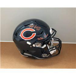"""Devin Hester Signed Chicago Bears Full-Size Authentic On-Field SpeedFlex Helmet Inscribed """"PR/KR GOA"""