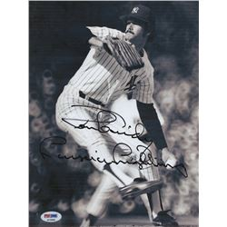 "Ron Guidry Signed New York Yankees 8.5x11 Photo Inscribed ""Louisiana Lightning"" (PSA COA)"