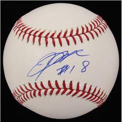 Kenta Maeda Signed OML Baseball (JSA COA)