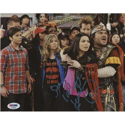 """Jennette McCurdy Signed """"iCarly"""" 8x10 Photo Inscribed """"Stay Cool"""" (PSA Hologram)"""