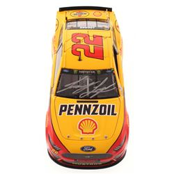 Joey Logano Signed 2019 NASCAR #22 Pennzoil - Shell - Gander RV Duel #2 Win - Raced Version - 1:24 P