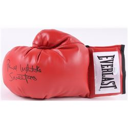"Pernell Whitaker Signed Everlast Boxing Glove Inscribed ""Sweet Pea"" (JSA COA)"