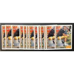 Lot of (15) 1991 Upper Deck #13 Brett Favre RC