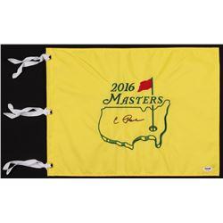 Condoleezza Rice Signed 2016 Masters Golf Pin Flag (PSA COA)
