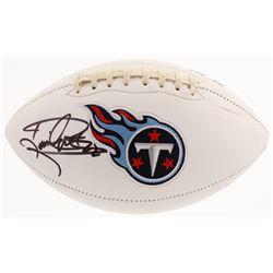 Derrick Henry Signed Tennessee Titans Logo Football (Beckett COA)
