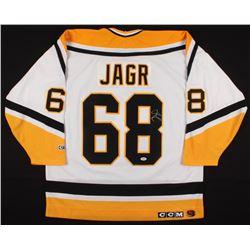 Jaromir Jagr Signed Pittsburgh Penguins Captain Jersey (PSA COA)
