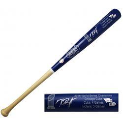 Kris Bryant Signed Louisville Slugger 2016 World Champions Baseball Bat (MLB Hologram  Fanatics Holo