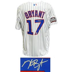 Kris Bryant Signed Chicago Cubs 2016 World Series Majestic Jersey (MLB Hologram  Fanatics Hologram)