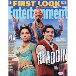 "Mena Massoud Signed ""Aladdin"" 11x14 Photo (PSA COA)"