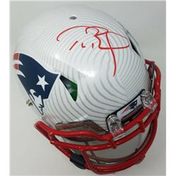 Tom Brady Signed New England Patriots Limited Edition Full-Size Authentic On-Field Hydro-Dipped Spee