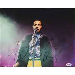"Lauryn Hill Signed 11x14 Photo Inscribed ""16""  ""BK"" (PSA COA)"