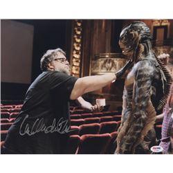 "Guillermo del Toro Signed ""The Shape of Water"" 11x14 Photo (PSA COA)"