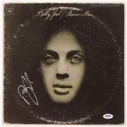 "Billy Joel Signed ""Piano Man"" Vinyl Album Cover (PSA COA)"