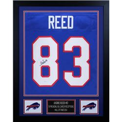 Andre Reed 24x30 Custom Framed Jersey Display (JSA COA)
