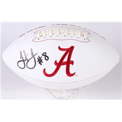 Julio Jones Signed Alabama Crimson Tide Logo Football (JSA COA)