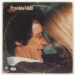 "Frankie Valli Signed ""Closeup"" Vinyl Record Album Cover Inscribed ""To"" (PSA COA)"