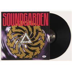 """Chris Cornell Signed Soundgarden """"Badmotorfinger"""" Album Cover (PSA COA)"""