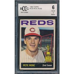 1964 Topps #125 Pete Rose (BCCG 6)