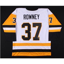 """Carter Rowney Signed Jersey Inscribed """"2017 S.C. Champs"""" (Rowney COA)"""
