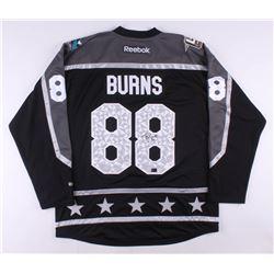 Brent Burns Signed 2017 NHL All-Star Jersey (Burns COA)