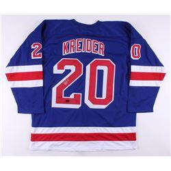 Chris Kreider Signed Jersey (Kreider COA)